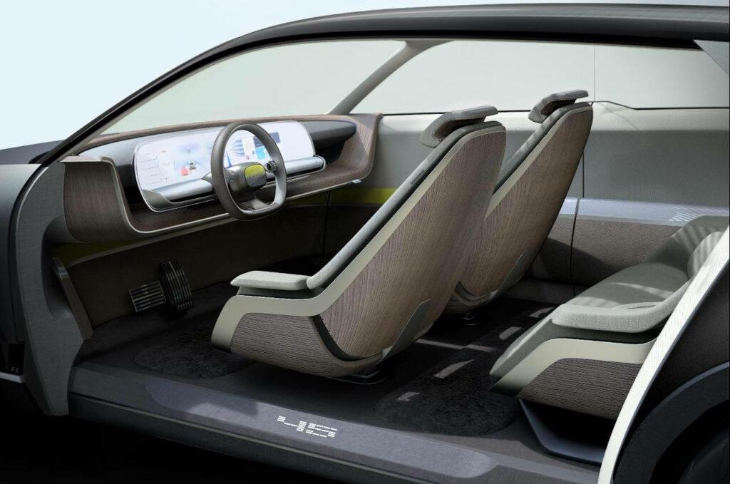 Interior do Hyundai 45 EV Concept