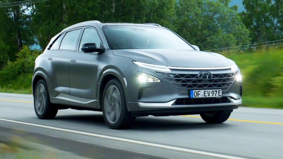 Hyundai Nexo - Carro a Hidrogénio
